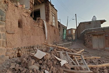 تصاویر: زلزله 5.9 ریشتری در میانه