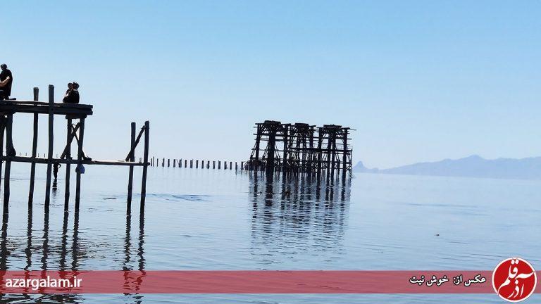 تراز آب دریاچه ارومیه ۶ سانتی متر کاهش یافت