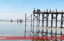 آخرین وضعیت دریاچه ارومیه بعد از تبخیر تابستان و کاهش بارش پاییز
