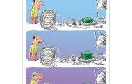 کارتون های روز: نمایندههای ضعیف، خواستگار سارق، نوزاد ایرانی، مافیای کنکور و وام مسکن!