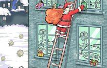 کارتون های روز: واکسن کرونا، کار خرابی بچه ها، کرونای انگلیسی، افزایش تصادفات و بابانوئل امسال!