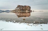 تصاویر: طبیعت زمستانی دریاچه ارومیه