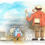 کارتون های روز: بدرقه اول مهر، بازنشستگی سخاوتمندانه،و حضور جنجالی یک دختر در دانشگاه!