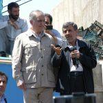 احمدی نژاد و علیرضا بیگی در آذربایجان شرقی + تصاویر