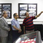 تمجید مدیرعامل تراکتور از موزه فوتبال آذربایجان