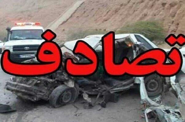 واژگونی سمند در زیرگذر صاحب الامر تبریز 2 کشته بر جای گذاشت+ عکس