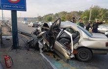 سانحه رانندگی در اتوبان تبریز- زنجان ۲ کشته بر جای گذاشت