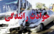 تصادف اتوبوس گردشگران تبریزی در گردنه حیران