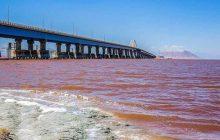 کاهش ۴۴ سانتی متری تراز دریاچه ارومیه