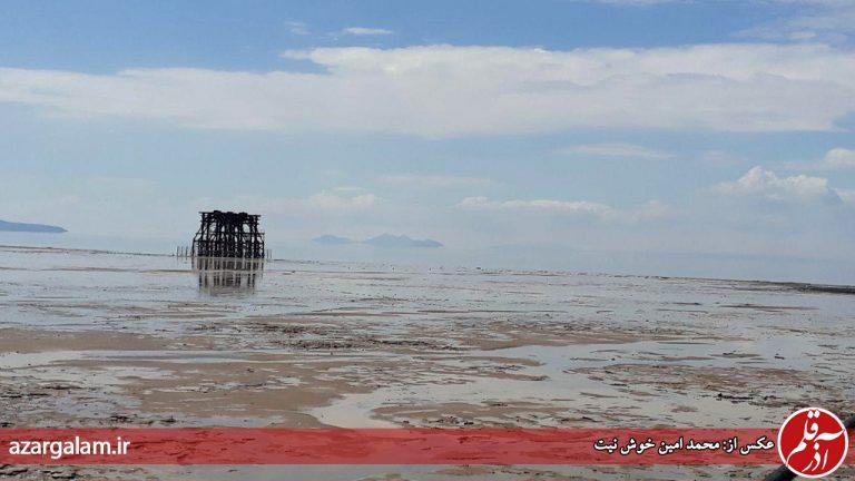 هیچ آبی از خردادماه وارد دریاچه ارومیه نشده است/ افزایش دوباره تراز از آبانماه