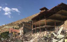 جزئیات تخریب یک ویلای میلیاردی در تبریز + عکس