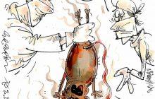 کارتون های روز: بازی کثیف تروریستها،نوزادان 99/9/9،بچه تهدیگ شد، کرونا کم آورد!