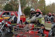 رزمایش مشترک مبارزه با کرونا در تبریز اجرا شد + عکس