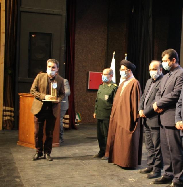 سردبیر آذرقلم، رتبه برتر جشنواره ابوذر آذربایجان شرقی را کسب کرد