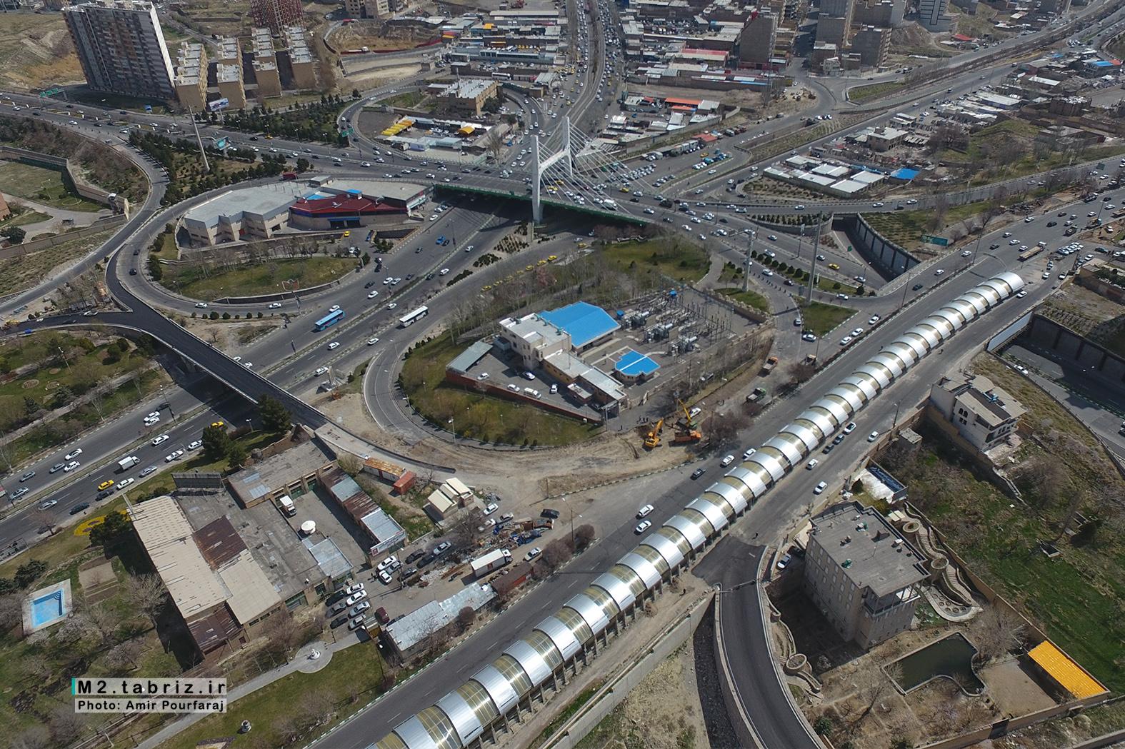 پل همسان کابلی تبریز بزودی به بهره برداری می رسد