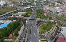 مجموعه پروژههای تکمیل طرح تبادل اتحاد ملی تبریز به بهره برداری رسید