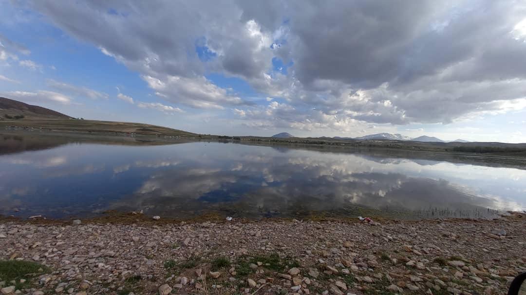 تالاب قوری گول حال خوشی ندارد/ کاهش ۵۲ سانتی متری تراز آبی
