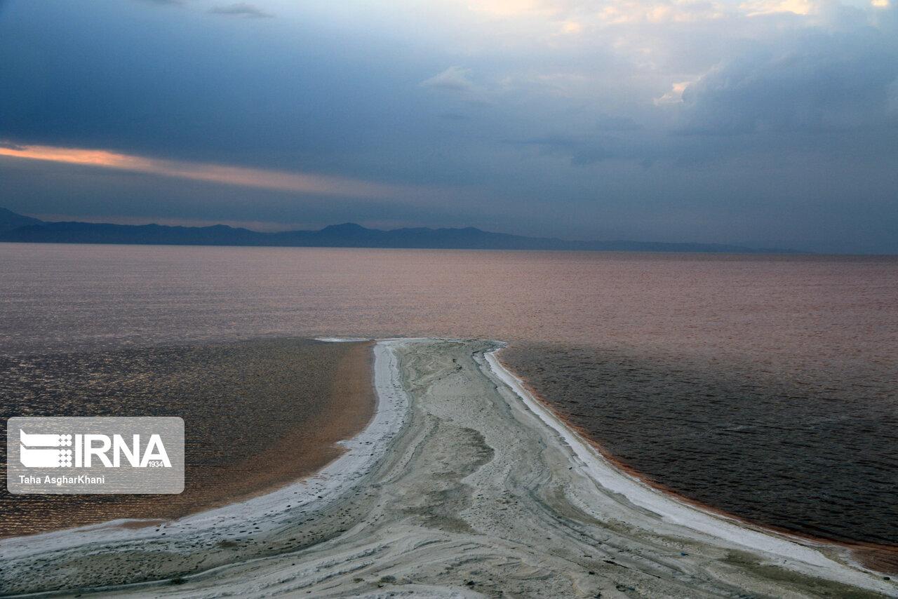 تراز دریاچه ارومیه 62 سانتی متر دیگر کاهش یافت