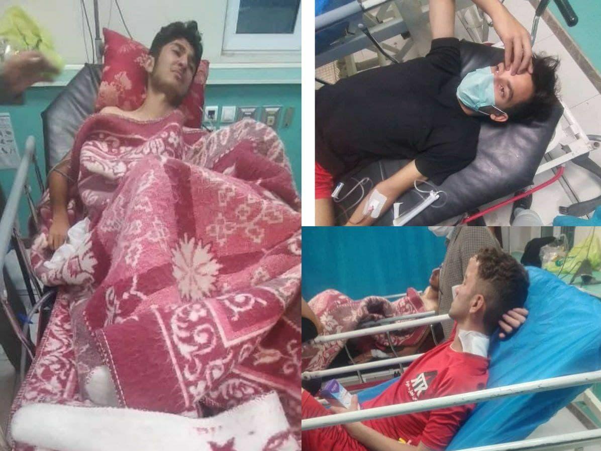 فوتبال کثیف: درگیری و مصدومیت چند بازیکن در مرند + عکس